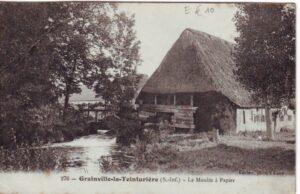 Moulin à Papier CP